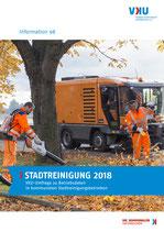 Information 98: Stadtreinigung 2018 – VKU-Umfrage zu Betriebsdaten in kommunalen Stadtreinigungsbetrieben