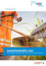 """Information 94  """"Baubetriebshöfe 2018 – VKU-Umfrage zu Betriebsdaten in kommunalen Baubetriebshöfen"""""""