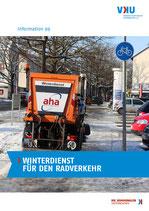 """Information 99 : """"Winterdienst für den Radverkehr"""""""