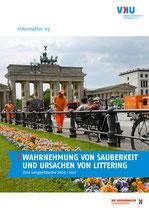 """Information 93. """"Wahrnehmung von Sauberkeit und Ursachen von Littering"""""""