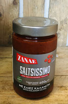 Saltsissimo Tomatensauce mit Kalamataoliven 400g