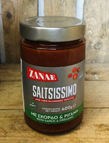 Saltsissimo Tomatensauce mit Knoblauch und Oregano 400g