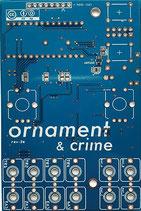 MXMXMX Ornament and Crime PCB