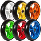 Bunte Lenkräder für Rollstuhl passend zu den Spinergy Speichen-Farben