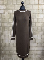 Sweaterdress long brown