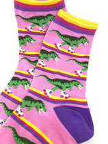 Skater T-Rex Socks