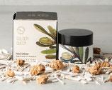 Gesichtscreme aus Olivenöl und Mandelöl; 2 Sorten
