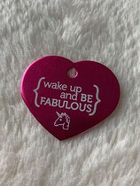 "Soulhorse-Marke ""wake up ande be fabulous"""