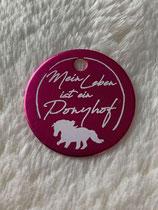"""Soulhorse-Marke """"Mein Leben ist ein Ponyhof"""""""