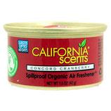 California Scents Concord Granberry Geurblikje