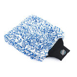 Cyclone premium Korean detailing mitt - blue