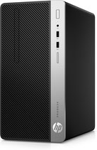 HP ProDesk 400 G4 - Micro Tower - 1 x Core i5 7500 / 3.4 GHz  RAM 8 GB - SSD 256 GB - DVD-Writer - HD Graphics 630 - GigE - Win 10 Pro 64-Bit