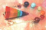 Pendel Regenbogen - Chakrakristalle