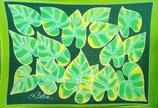 Pareo grüne Blätter Grün