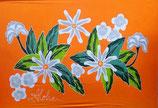 Pareo Tiare Orange