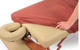 Ölresistenter Fixbezug für Massageliege