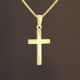 """Anhänger """"Kreuz"""" aus 333-Gelbgold"""
