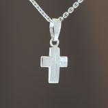 """Anhänger """"Kreuz"""" aus 333-Weißgold"""