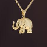 """Anhänger """"Elefant"""" aus 333-Gelbgold"""