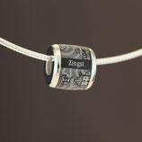 Zingst-Bead (Collier) aus 925-Sterlingsilber - Farbe: schwarz