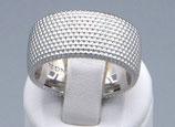 "Ring aus 925-Sterlingsilber ""Dots"" Nr. 1,   10mm  210190-h049"