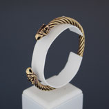 Armspange aus Bronze  Drachenkopf  Wikinger