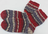 Socken Santa Claus mit Glitzereffekt