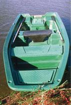 Barque électrique ou à la rame de 3 à 4 places
