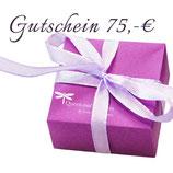 Gutschein 75,-€