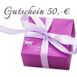 Atelier Gutschein 50,-€
