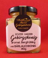 aromatischer Bergfrühling mit Bärlauchhonig (140g)