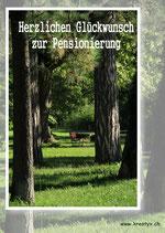 glückwunsch zur pensionerung