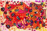 Petit puzzle poissons rouges