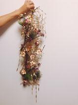 和の花飾りのワークショップ