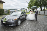 Rent your wedding limousine with a private driver for one day (8 hours) in Switzerland