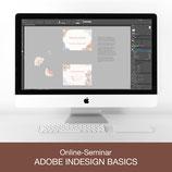 Online-Seminar - Adobe InDesign Basics
