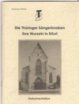 Die Thüringer Sängerknaben - Ihre Wurzeln in Erfurt