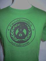 Basic-Shirt, umweltfreundlich weil subversiv, fair/bio