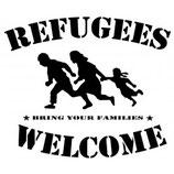 Refugees Welcome ,  Aufnäher