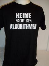 Basic-Shirt, Keine Macht den Algorithmen, Fairwearfoundation