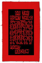 fight racism, Aufnäher