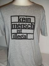 Basic-shirt, Kein Mensch ist illegal, fairwearfoundation