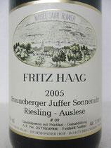 2005 Fritz Haag Brauneberger Juffer Sonnenuhr Riesling Auslese Goldkapsel A.P. #9