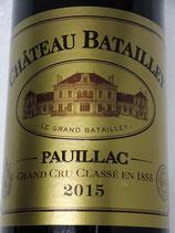 2015 Château Batailley Pauillac Grand Cru Classé