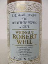2005 Kiedrich Gräfenberg Riesling Auslese VDP.Grosse Lage Robert Weil