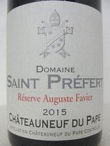 2015 Domaine Saint Préfert Réserve Auguste Favier Châteauneuf-du-Pape AOC