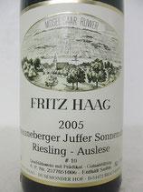 2005 Brauneberger Juffer Sonnenuhr Riesling Auslese #10 fruchtsüß