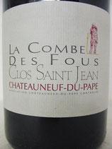 2009 La Combe des fous Châteauneuf-du-Pape Clos Saint Jean