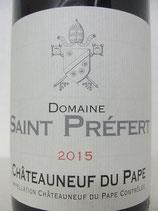2015 Domaine Saint Préfert Châteauneuf-du-Pape Classique