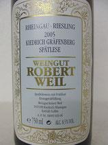 2005 Kiedrich Gräfenberg Riesling Spätlese VDP.Grosse Lage Robert Weil